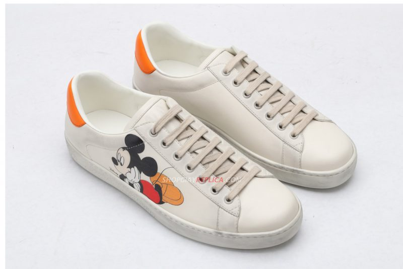 Giày Gucci Ace Mickey Like Auth