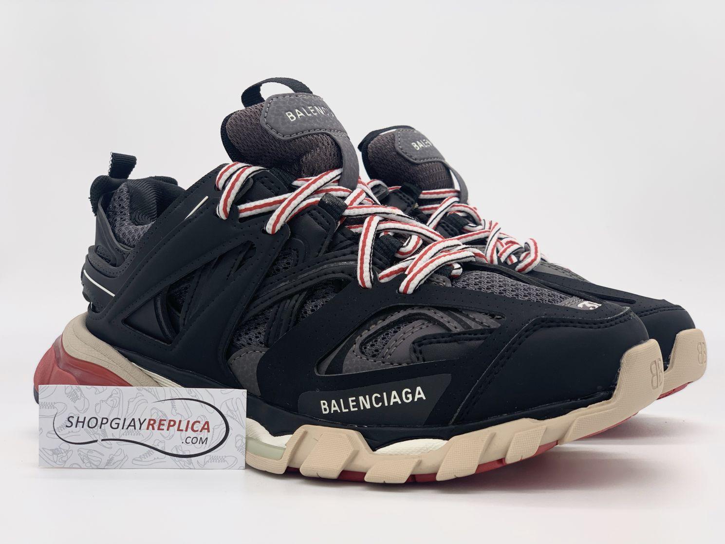 Giày Balenciaga Track 3.0 đen đỏ