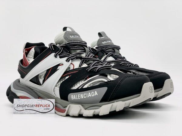 Giày Balenciaga Track 3.0 xám đỏ siêu cấp