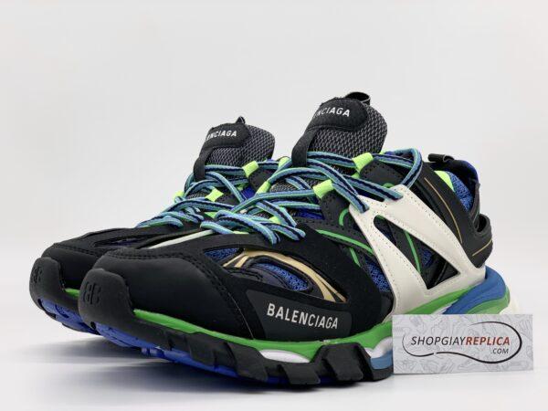 Giày Balenciaga Track 3.0 xanh đen siêu cấp