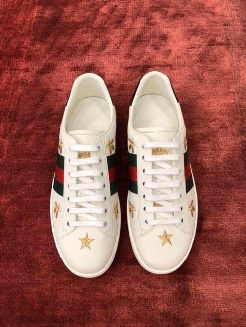 Giày Gucci Ong Sao Siêu Cấp Auth