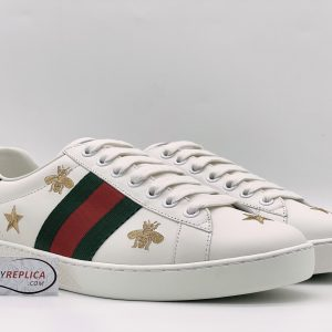 Gucci ACE Bee and Stars like auth