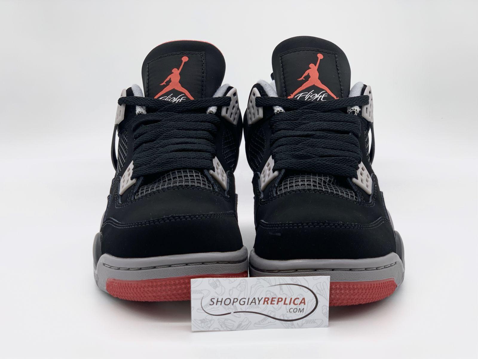 giày nike air jordan 4 retro bred rep