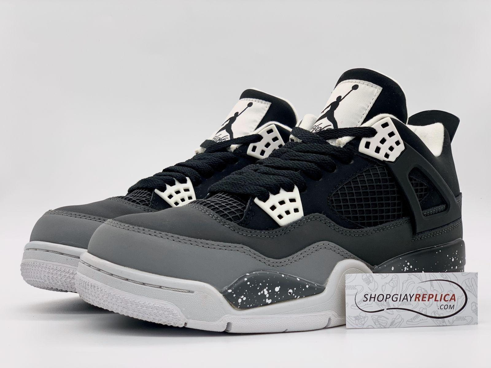 Giày Jordan 4 Retro Fear Pack