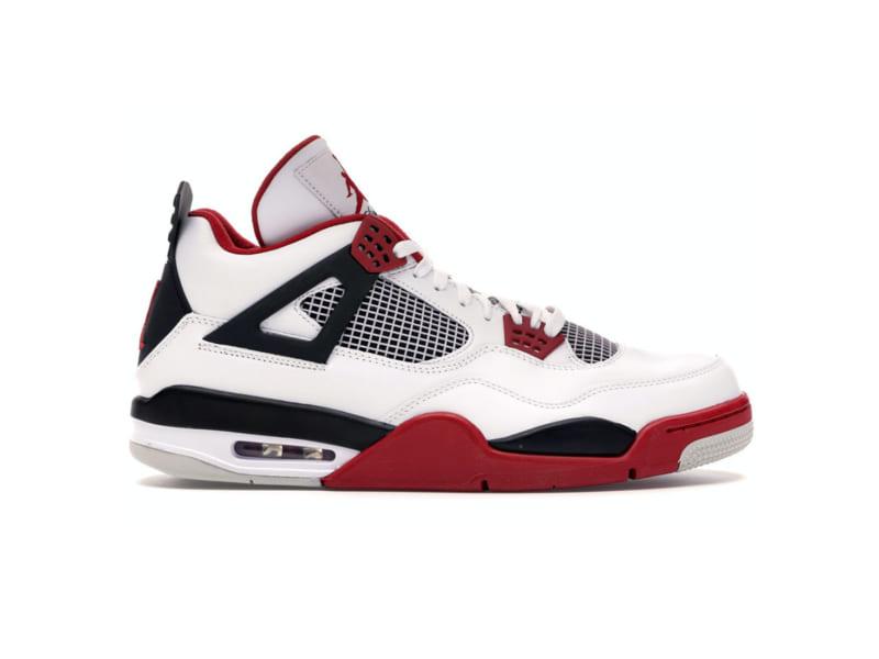Giày Nike Air Jordan 4 Fire Red Replica