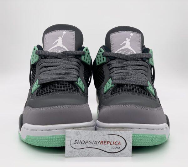 Giày Nike Air Jordan 4 Retro Green Glow replica
