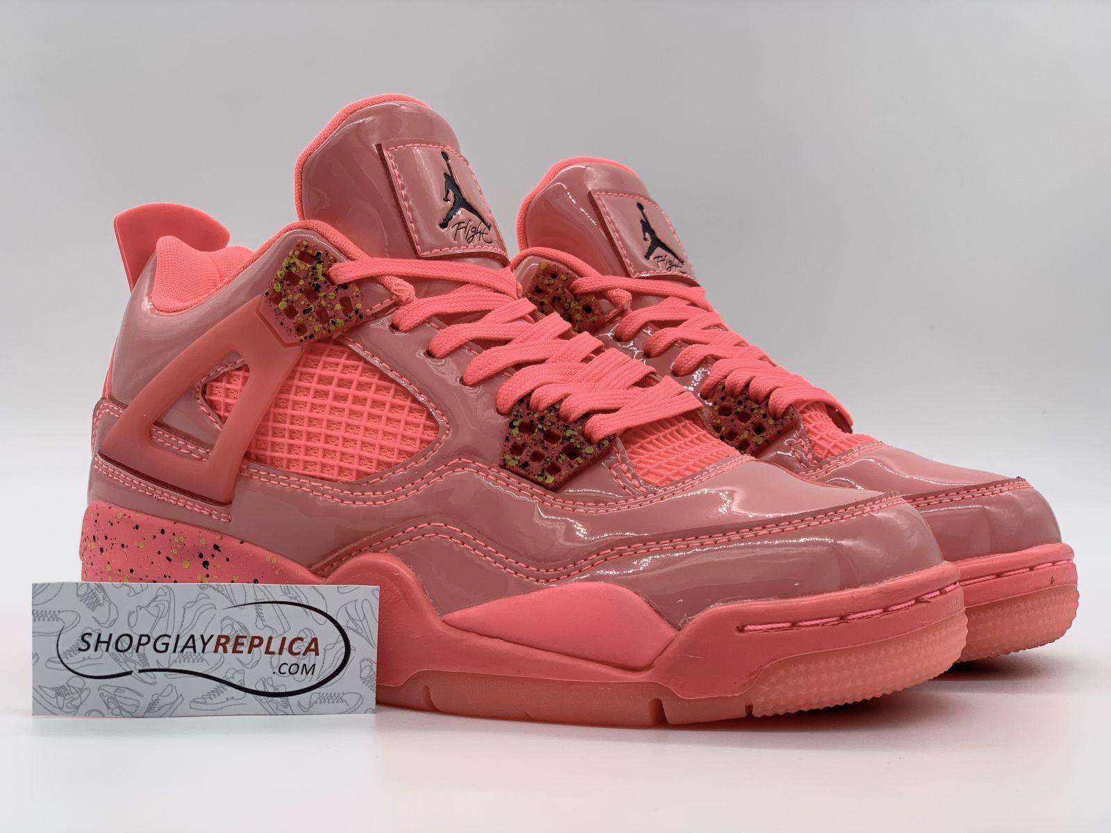 Giày Nike Air Jordan 4 Retro Hot Punch Rep 11