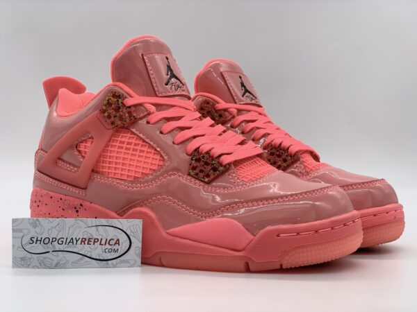 Giày Nike Air Jordan 4 Retro Hot Punch replica