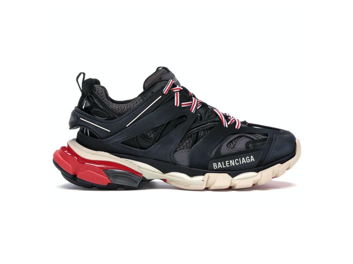 Giày Balenciaga Track 3.0 đen đỏ replica