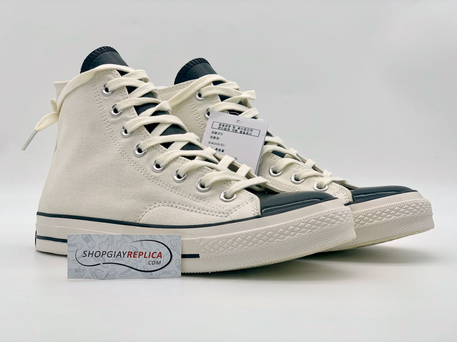 giày converse x fear of god white