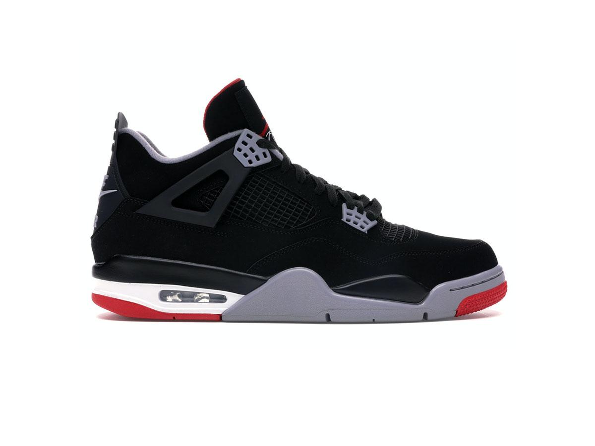 Giày Nike Air Jordan 4 Retro Bred Replica