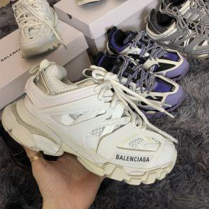 Giày Balenciaga Track 3.0 full trắng