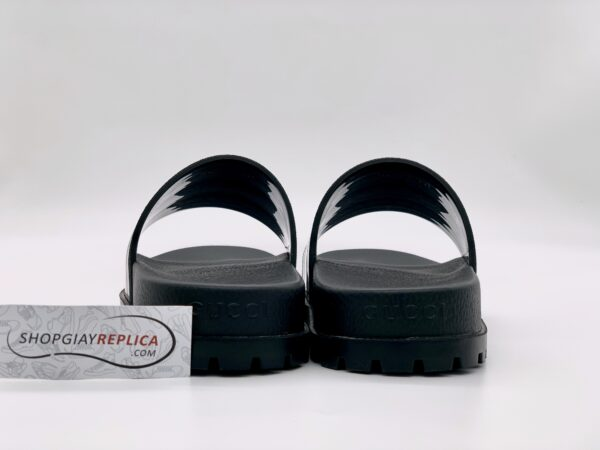 Dép Gucci Web Slide Sandal Black siêu cấp