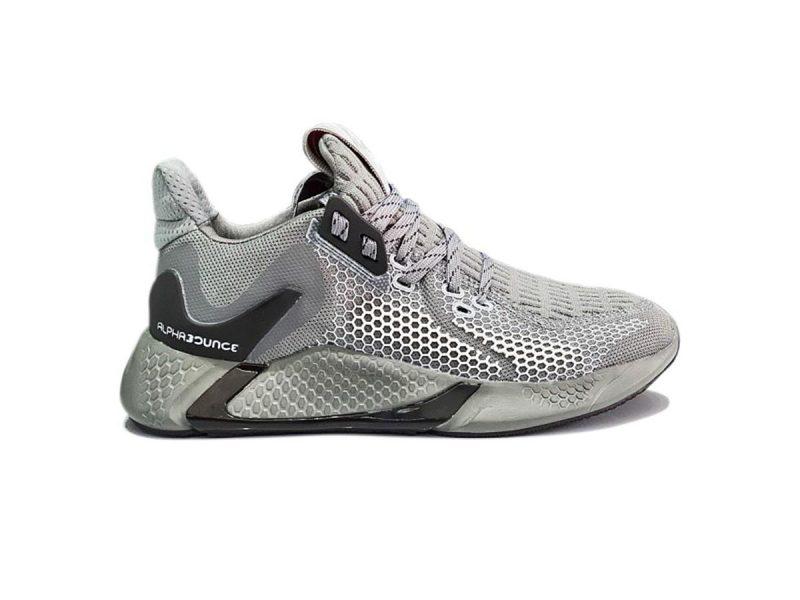 Giày Adidas Alphabounce Instinct M xám bạc replica