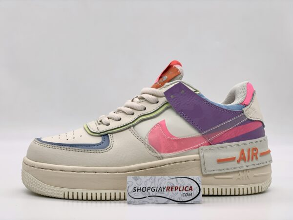Giày Nike Air Force 1 Shadow Beige Pale Ivory replica