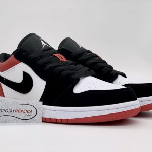 Giày Nike Air Jordan 1 Low Black Toe Replica