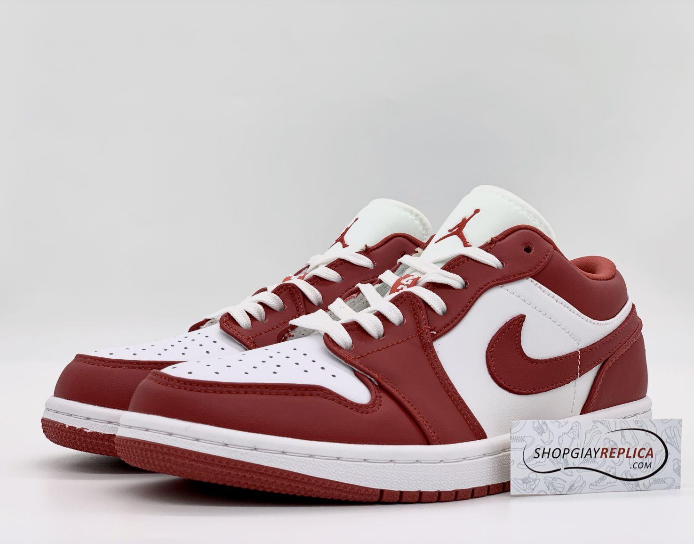 giày jordan 1 đỏ trắng