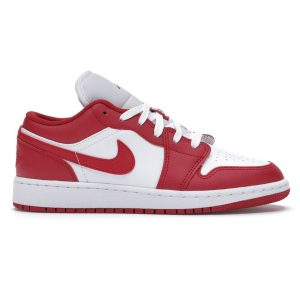 Giày Nike Air Jordan 1 Low Gym Red White replica