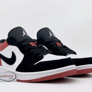 Giày Nike Air Jordan 1 Low Black Toe