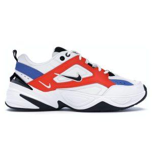 Giày Nike M2K Tekno trắng cam replica