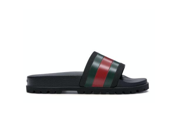 Dép Gucci Web Slide Sandal Black sieu cap