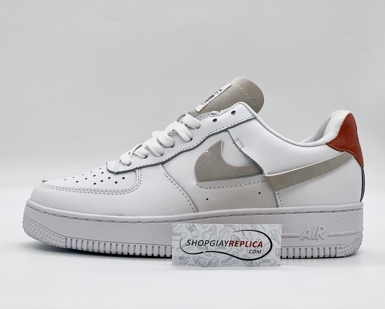 Giày Nike Air Force 1 LX Vandalized White rep 1 1