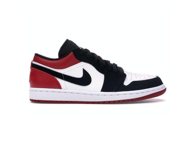 Giày Nike Air Jordan 1 Low Black Toe Replica