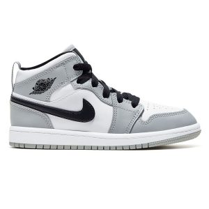 Giày Nike Air Jordan 1 Mid Light Smoke Grey replica