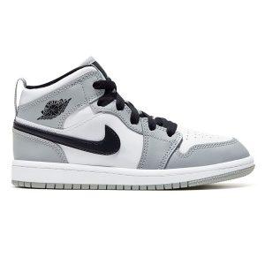 Giày Nike Air Jordan 1 Mid Light Smoke Grey replica