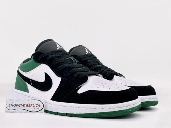 Giày Nike Air Jordan 1 Low White Black Mystic Green Replica