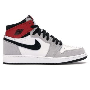 Giày Nike Air Jordan 1 Retro High Light Smoke Grey replica