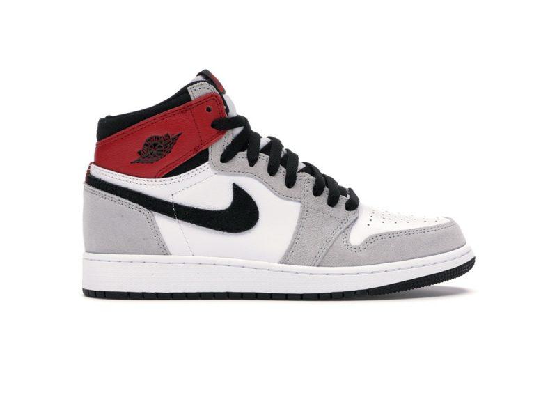 Giày Nike Air Jordan 1 Retro High Light Smoke Grey replica