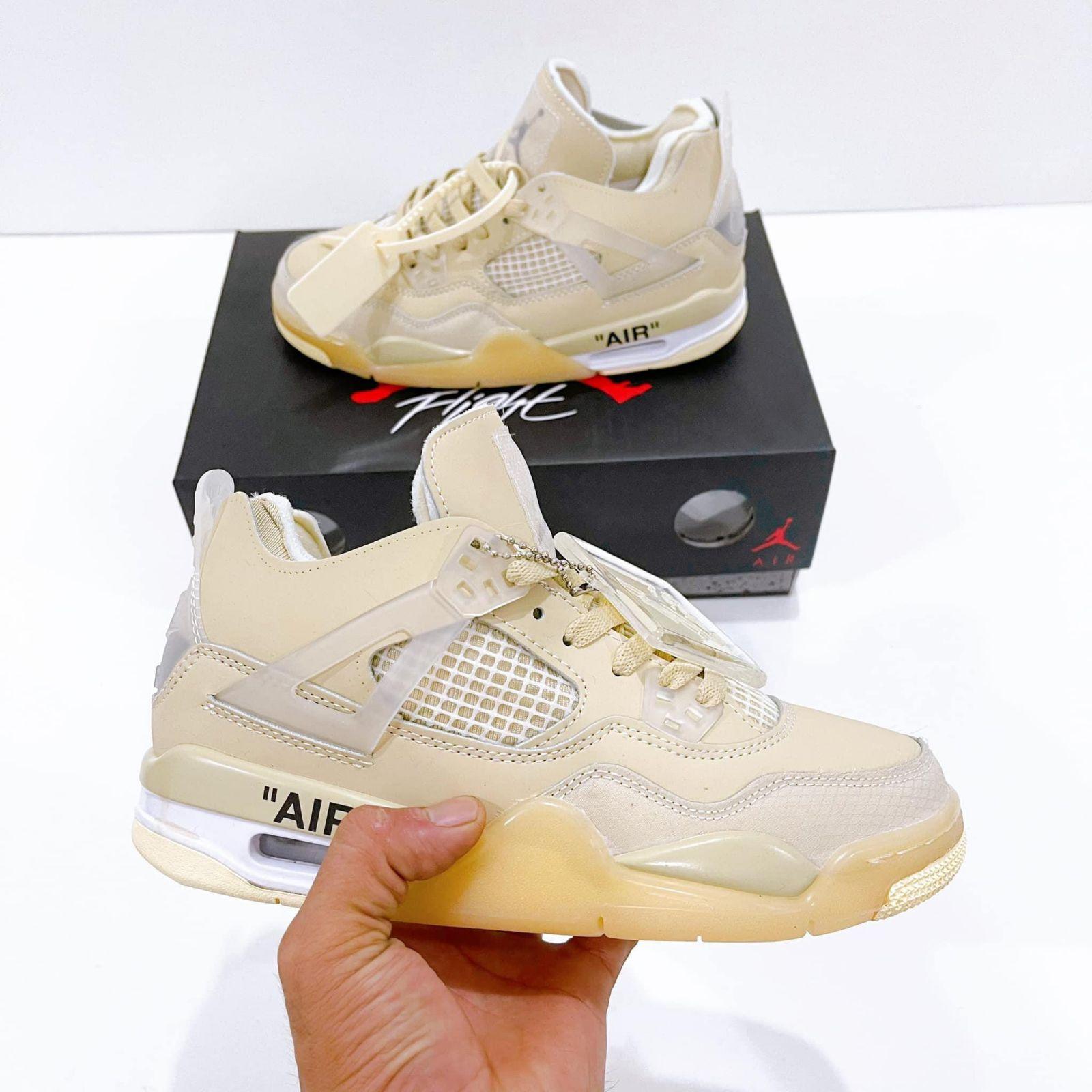 Nike Jordan 4 Retro Off White Sail