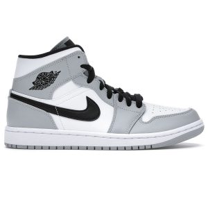 Nike Air Jordan 1 Mid Light Smoke Grey