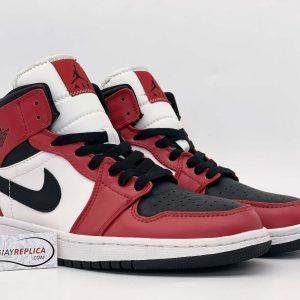 Giày Nike Air Jordan 1 Mid Chicago Toe