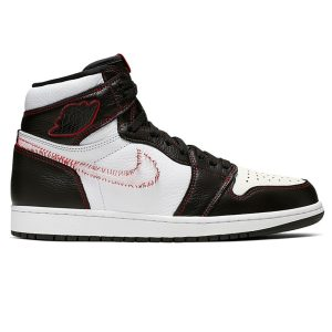 Nike Air Jordan 1 Retro High Defiant White Black Gym Red replica