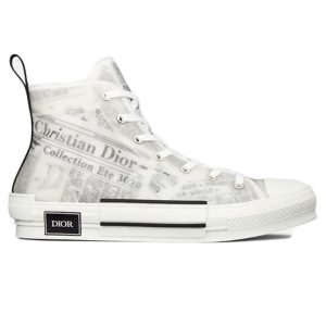 Dior B23 High Top Daniel Asham Newspaper siêu cấp
