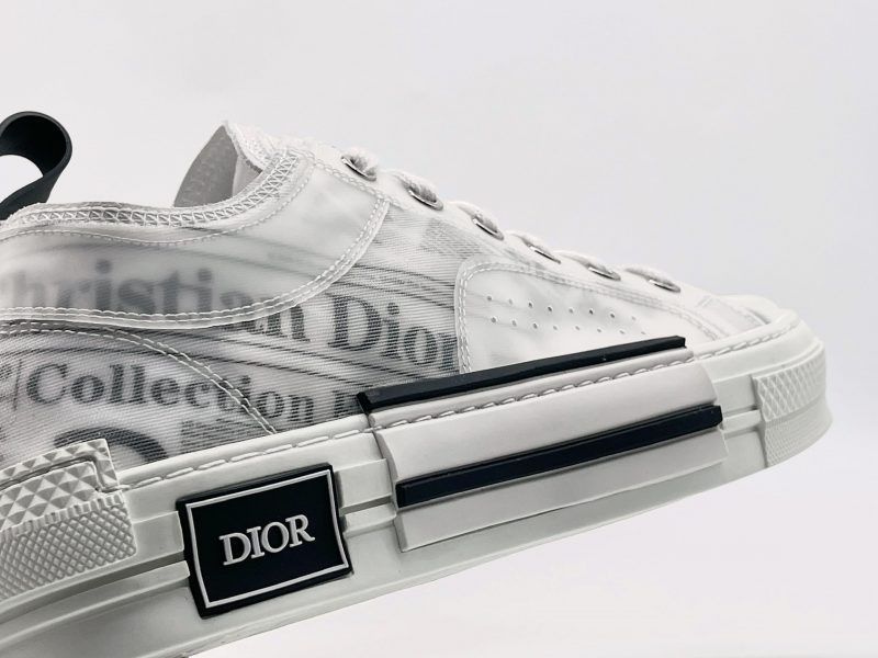 Giày Dior B23 Low Top Daniel Arsham Newspaper