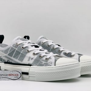 Dior B23 Low Top Daniel Arsham Newspaper