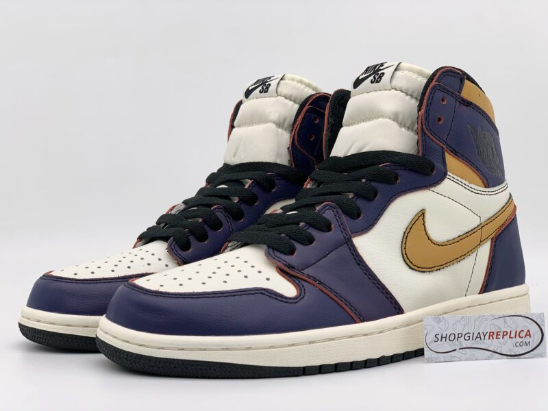 Giày Nike Air Jordan 1 Retro High OG Defiant SB LA to Chicago replica
