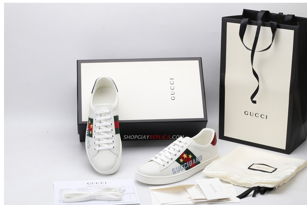 Giày Gucci Ace Gucci Band like auth