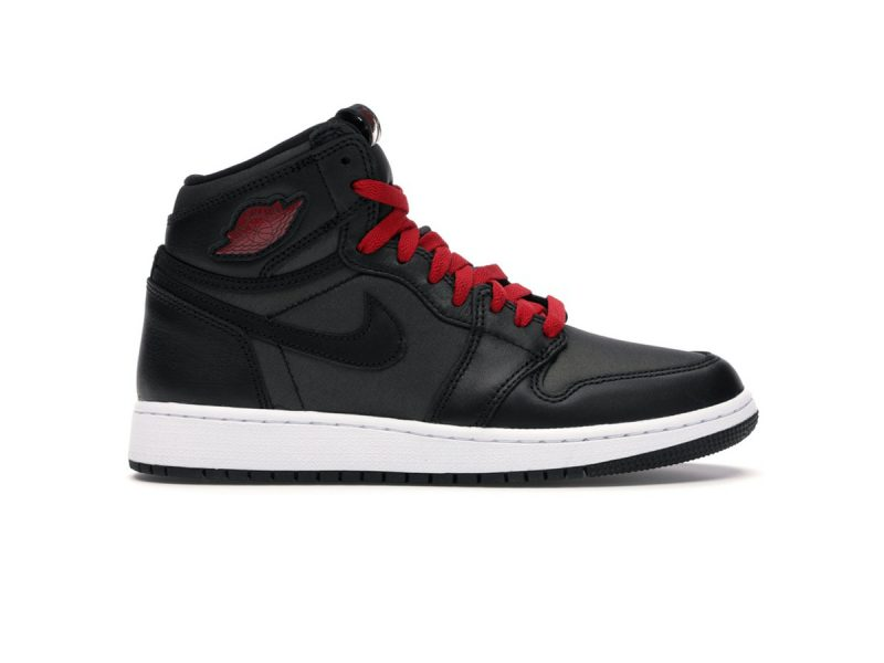 Jordan 1 Retro High Black Gym Red Black replica