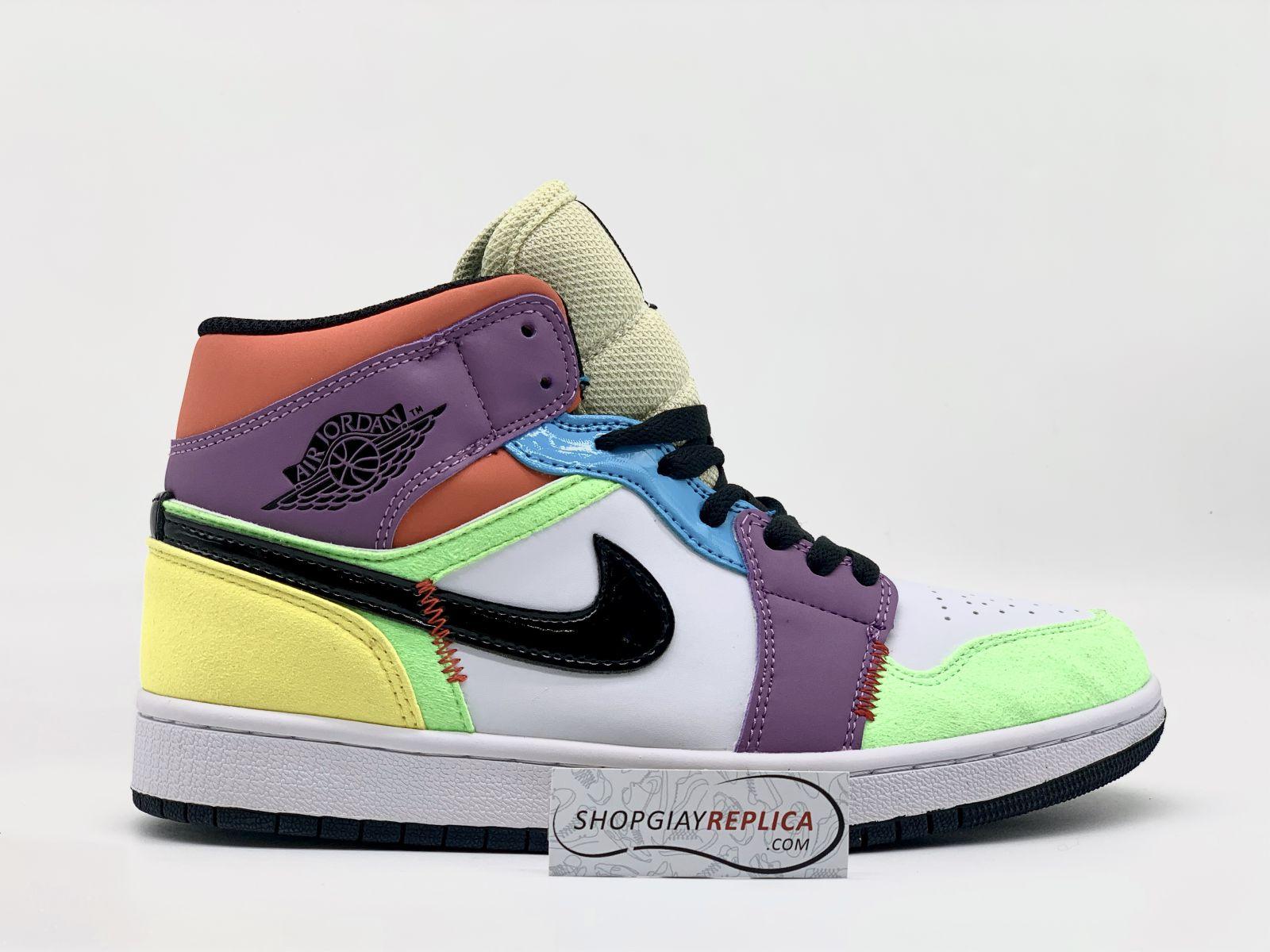 Nike Air Jordan 1 Mid SE Multi Color
