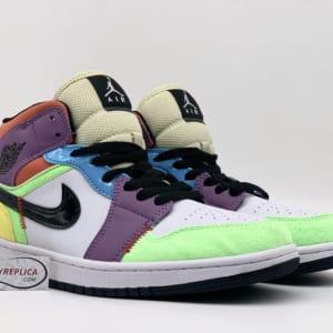 Nike Air Jordan 1 Mid SE Multi Color replica