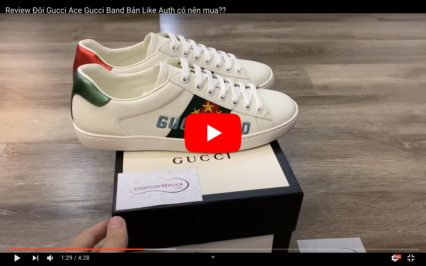 Video Gucci Band Like Auth