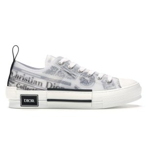 Dior B23 Low Top Daniel Asham Newspaper siêu cấp