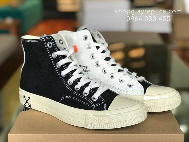 giày converse off white