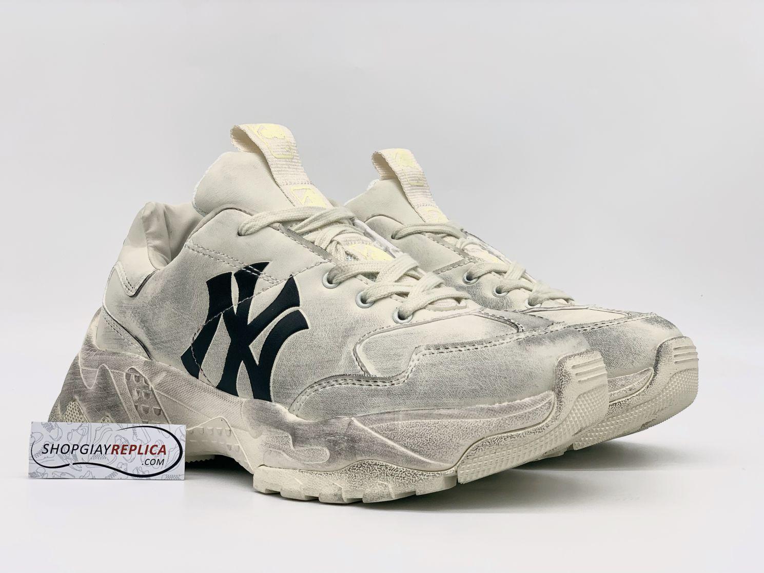 MLB NY chữ đen Dirty Rep 11