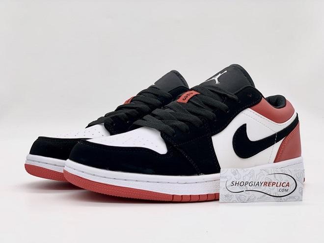Giày nike jordan 1 low black toe