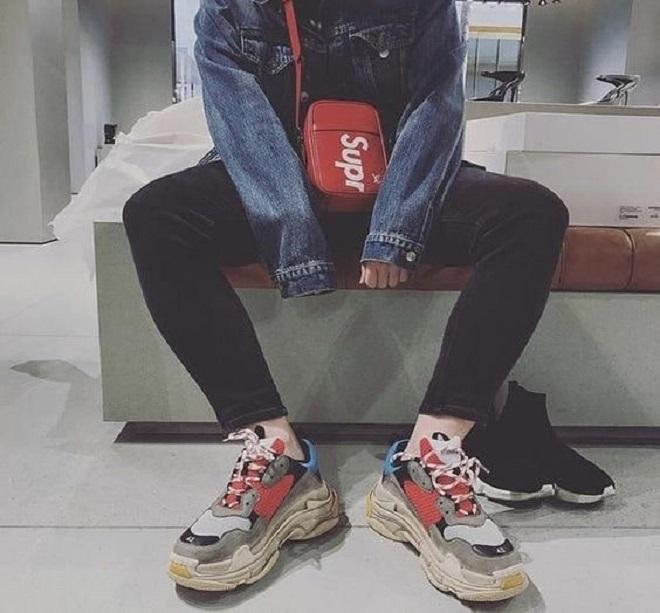 outfit balenciaga 3s